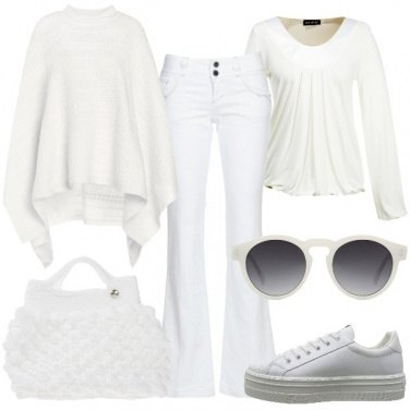 Outfit Fiocchi di bianco