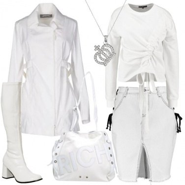 Outfit Solo bianco