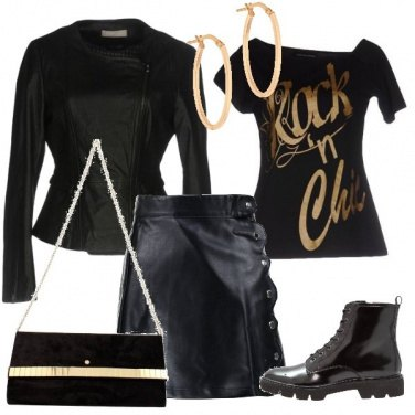 Outfit Rock e chic
