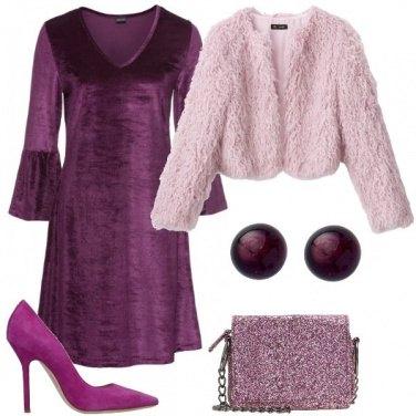 Outfit La borsa con i glitter