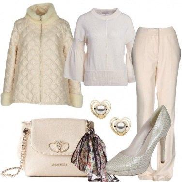 Outfit Pantaloni e tacchi
