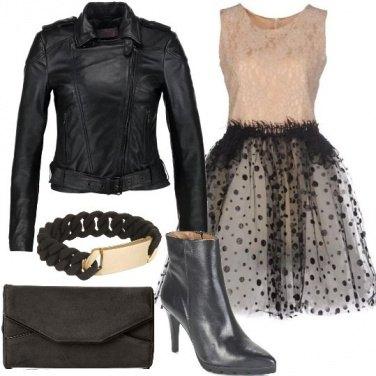 Outfit Glitter e paillettes