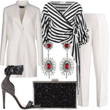 Outfit Un tailleur per la festa