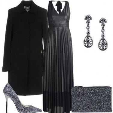 Outfit Glitter grigio