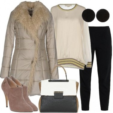 Outfit La borsa tricolore