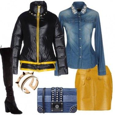 Outfit Piumino e cuissard