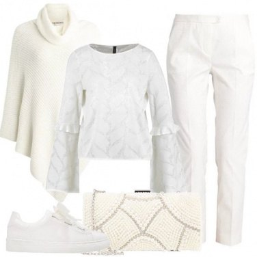 Outfit Stasera in bianco