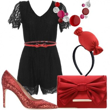 Outfit La caramella rossa