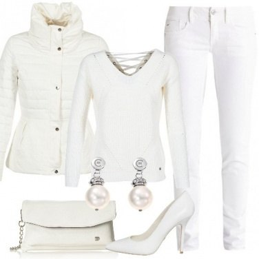 Outfit Il bianco trendy