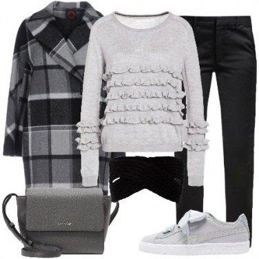 Outfit Gradazioni di grigio