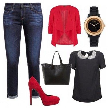 Outfit In ufficio ma con stile