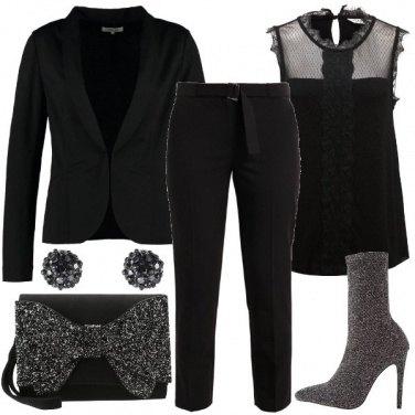 Outfit Una serata glitter