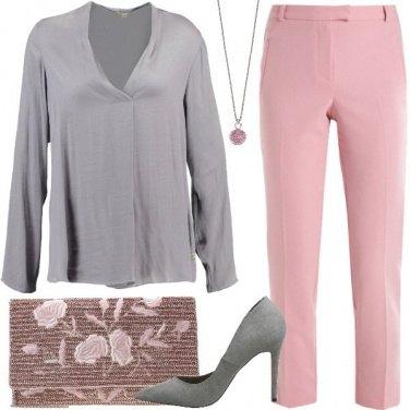 Outfit Ghiaccio e rose
