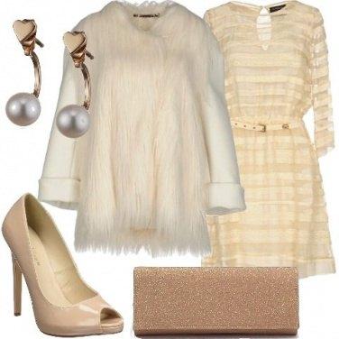 Outfit La clutch glitterata