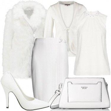 Outfit La gonna gessata