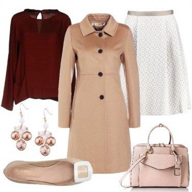 Outfit Cappotto e ballerine