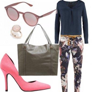 Outfit Sfumature di rosa