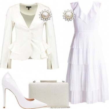 Outfit Chic in bianco