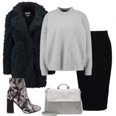 Outfit Toni del grigio