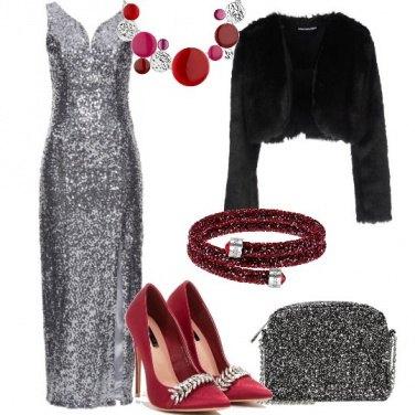 Outfit Scintillante e sensuale