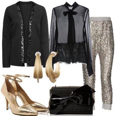 Outfit Il cenone glitterato