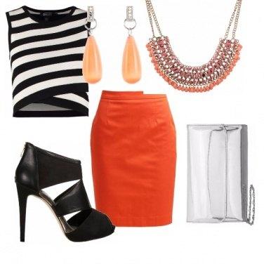 Outfit Rock Orange