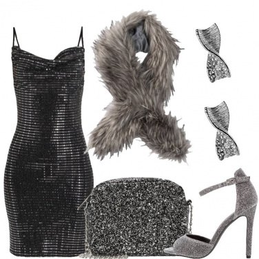 Outfit Soprattutto glitter