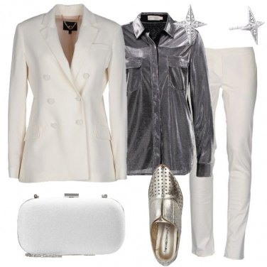Outfit Tailleur bianco