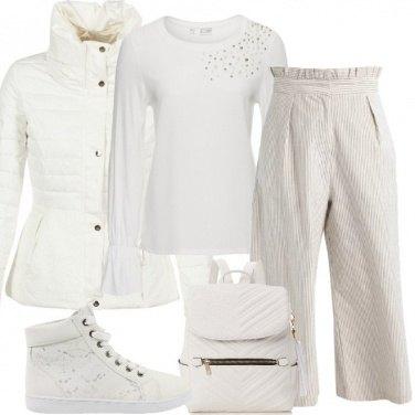 Outfit Come la neve