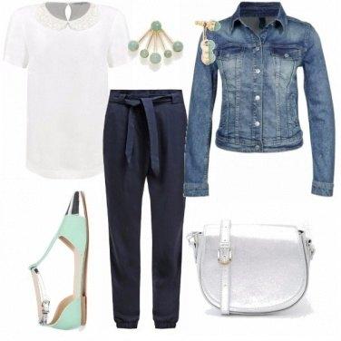 Casual chic outfit donna trendy per ufficio e tutti i for Outfit ufficio 2018