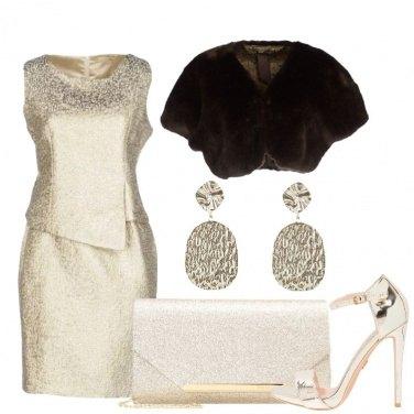 Outfit Serata con l\'oro