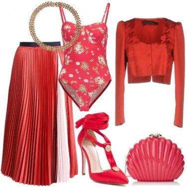 Outfit Rosso a fine anno