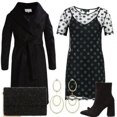 Outfit Il vestito con i glitter