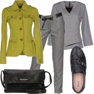 Outfit Non solo grigio
