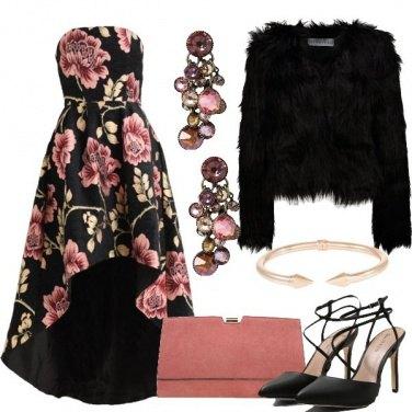 Outfit L\'eleganza floreale