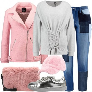 Outfit Il cappellino peluche