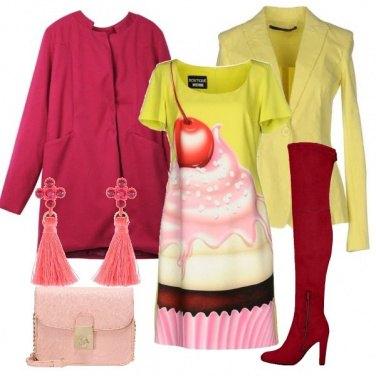 Outfit Un\'allure stravagante