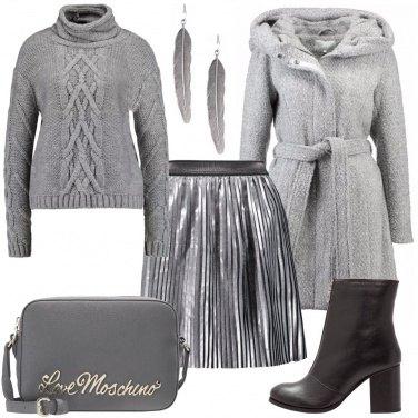 Outfit Tonalità di grigio