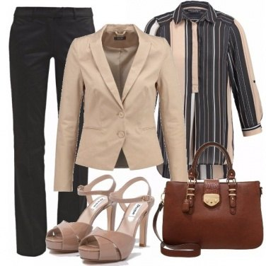 Outfit Stile androgino