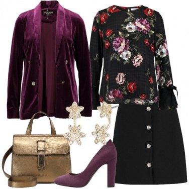 Outfit Blazer in velvet