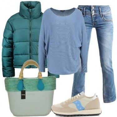 Outfit Una giacca imbottita