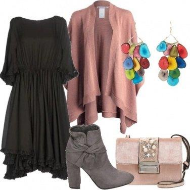 Outfit Orecchini colorati