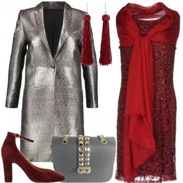 Outfit L\'abito di tulle perline e paillettes