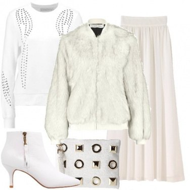 Outfit Serata speciale in bianco