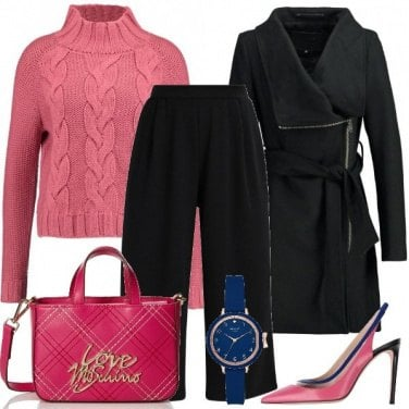 Outfit L\'orologio blu
