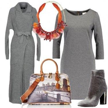 Outfit Grigio più grigio