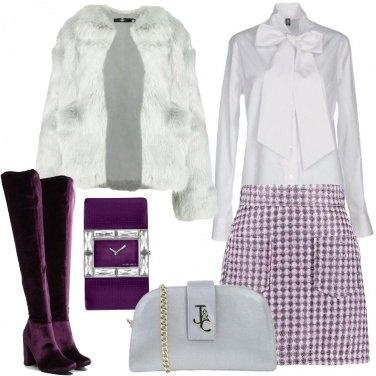 Outfit Qualcosa di viola
