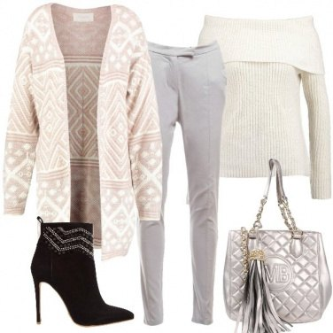 Outfit Cardigan extra lungo