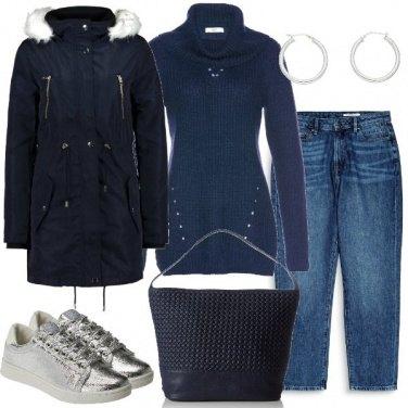 Outfit Lampi argentati