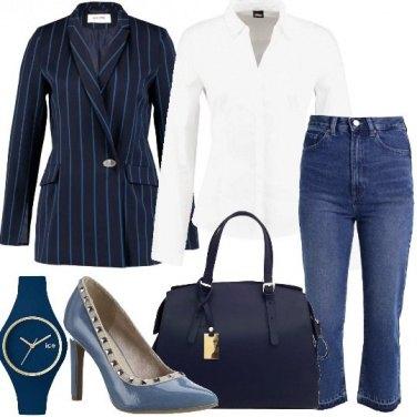 Outfit Il blazer rigato
